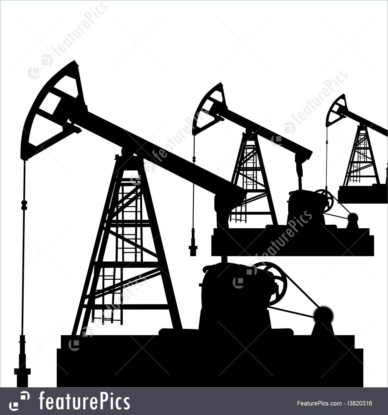 1300x1392 Oil Pump Jack Oil Industry Equipment Vector