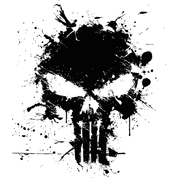 Punisher Logo Vector