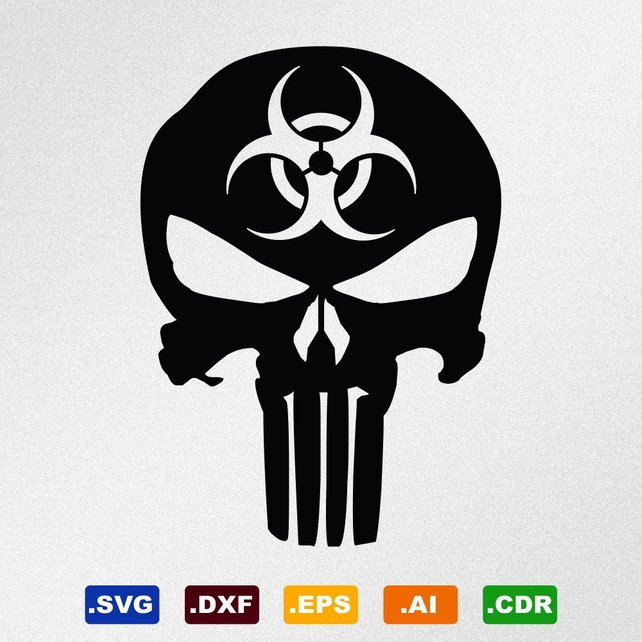 punisher logo vector at getdrawings com free for personal use