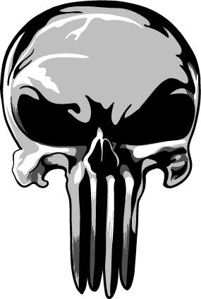 285x424 Punisher Skull Tshirt