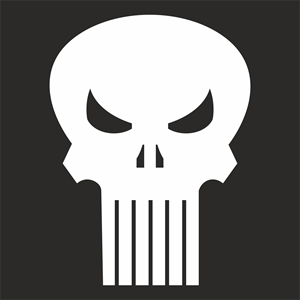 300x300 The Punisher Logo Vector (.cdr) Free Download