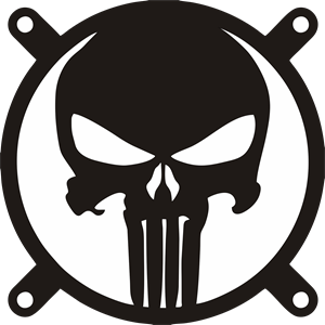 300x300 The Punisher Logo Vector (.eps) Free Download