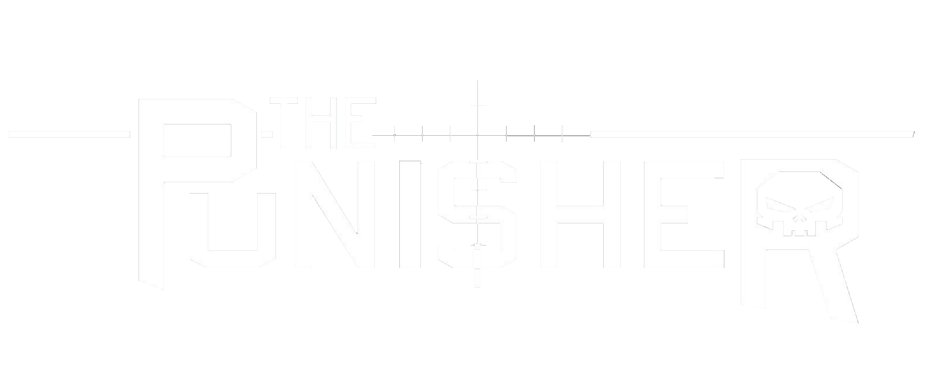 1920x800 The Punisher Logo Vector