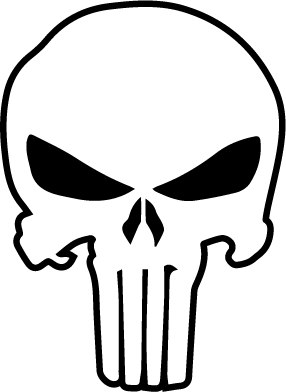 286x392 Punisher Template