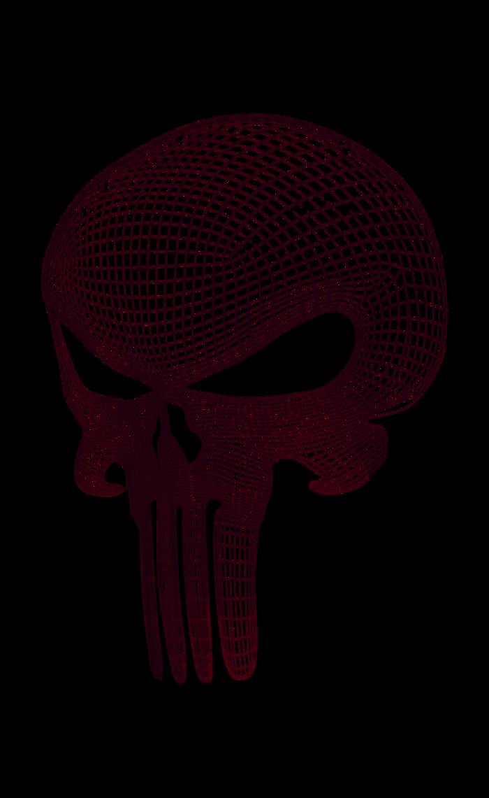 700x1141 Punisher Skull Vectors Black By Dunedrifter