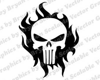 340x270 Punisher Svg Etsy