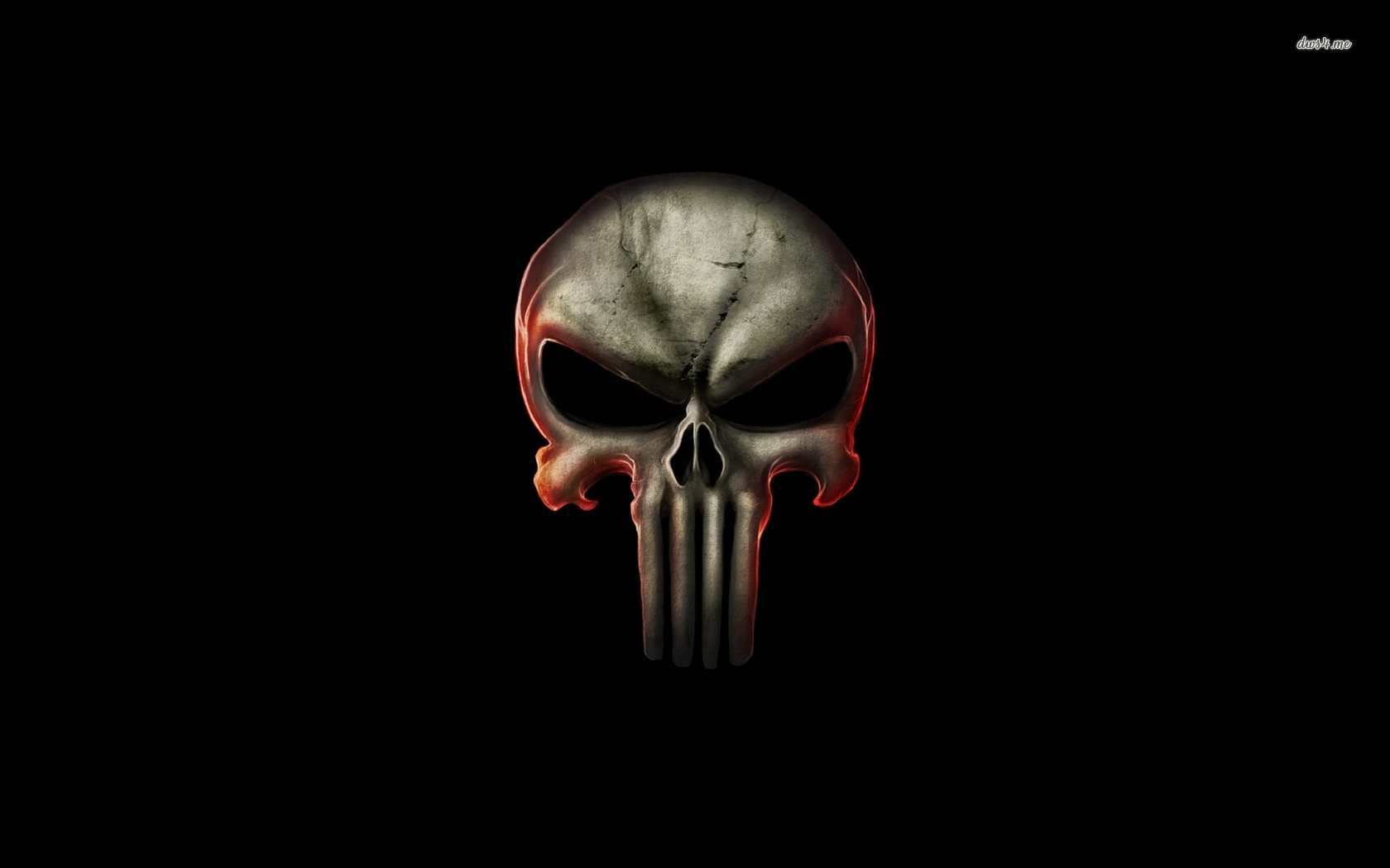 1680x1050 Appealing Punisher Skull Vector Photographs