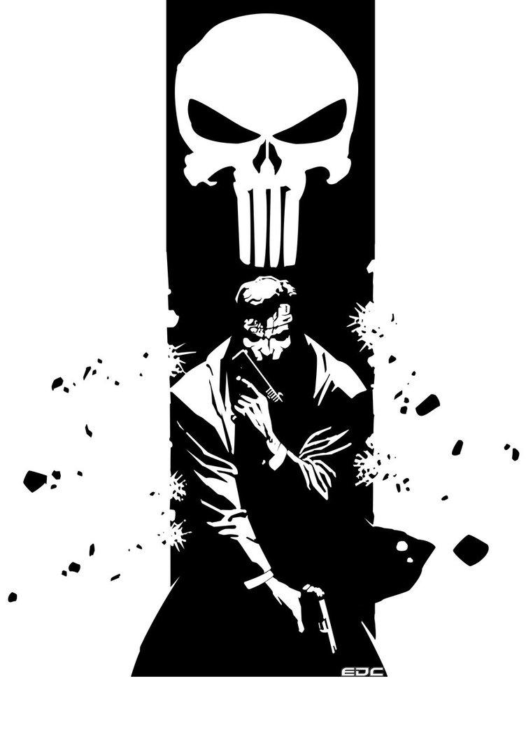 752x1063 Punisher By Evandeciren