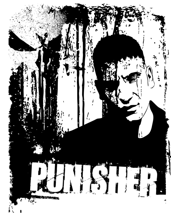 600x744 19 Punisher Vector Silhouette Huge Freebie! Download For