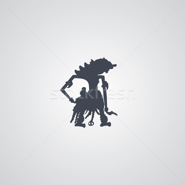 600x600 Indonesia Wayang Puppet Vector Illustration Vector1st ( 7162134