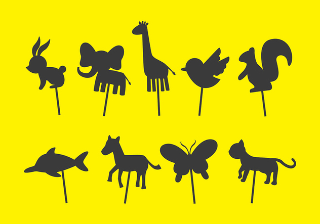 632x443 Animal Shadow Puppet Vectors Free Vector Download 380323 Cannypic