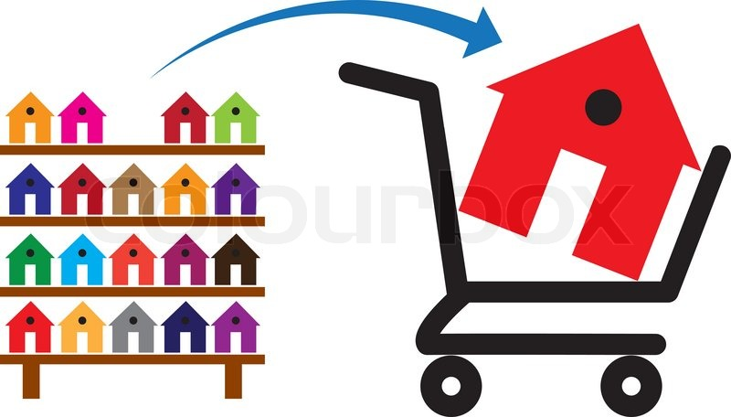 800x456 Concept Of Buying A House Or Property On Sale The Shopping Trolley
