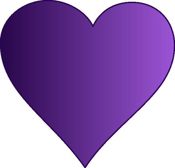 600x577 Purple Clipart Love Heart