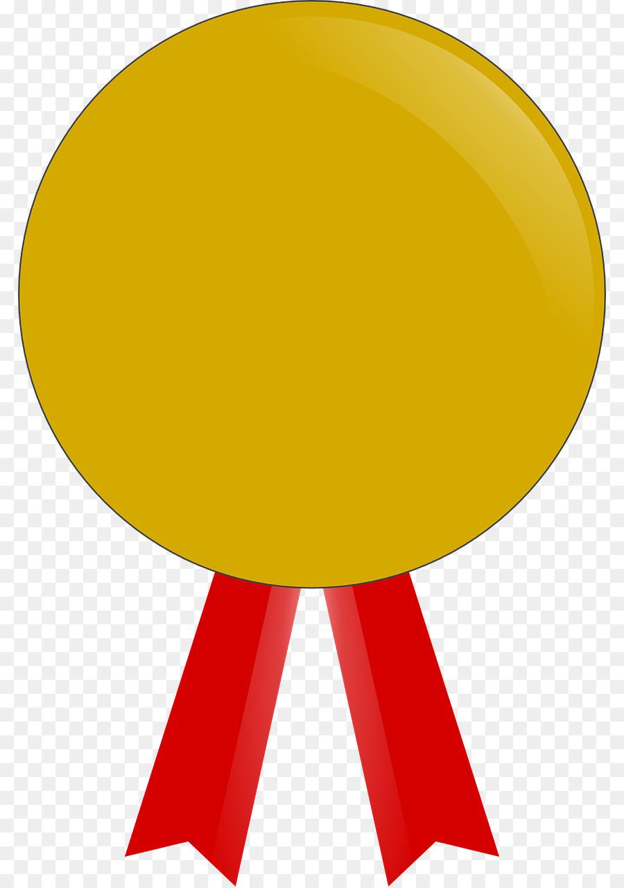 900x1280 Yellow Medal Vector