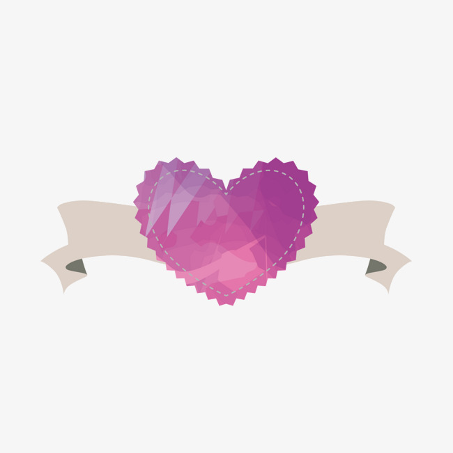 650x651 Purple Heart Label, Heart Vector, Label Vector, Violet Png And