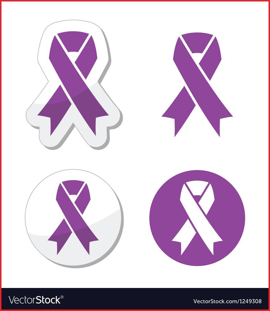 939x1080 Pancreatic Cancer Color 106958 Purple Ribbon Pancreatic Cancer