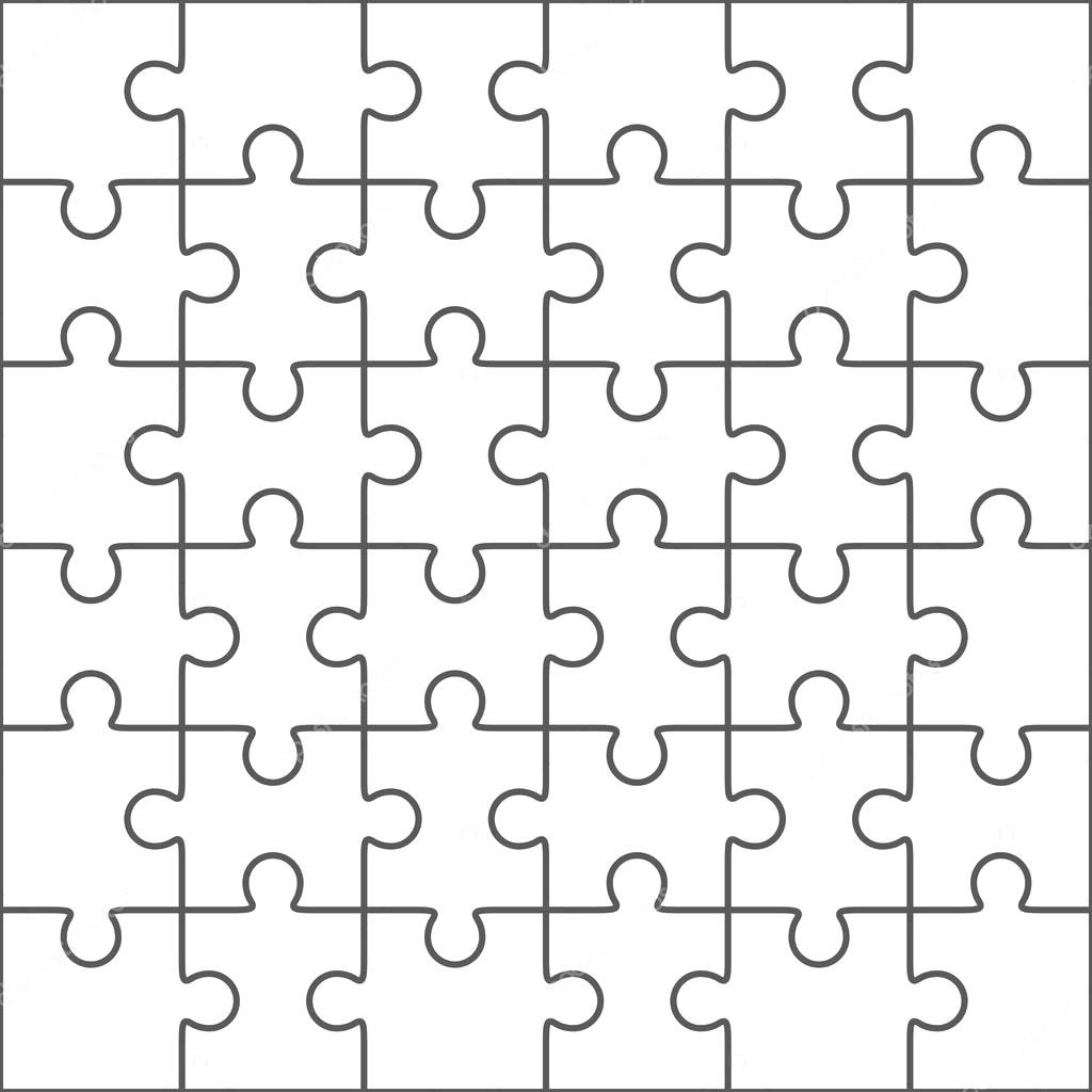 1024x1024 6015763 Beautiful Transparent Jigsaw Puzzle Vector 16