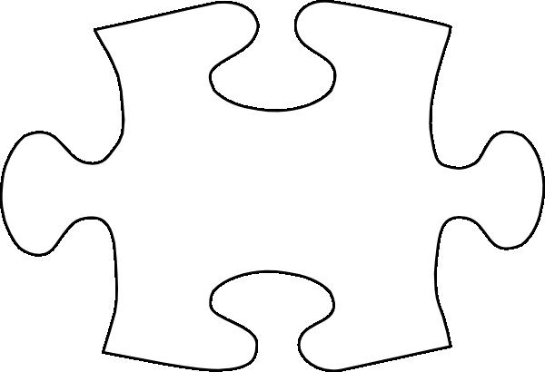 600x410 Puzzle Piece Template Jigsaw White Puzzle Piece No Shadow Clip