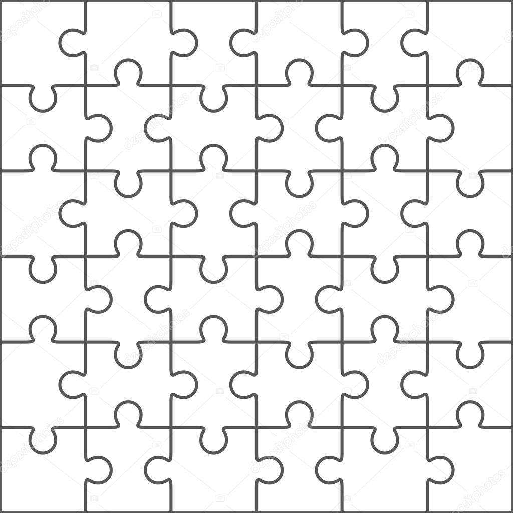 1024x1024 Hexagonal Jigsaw Puzzle Template Puzzle Vector Puzzle Template