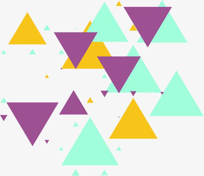 650x563 Color Triangle Puzzle, Color Vector, Triangle Vector, Puzzle
