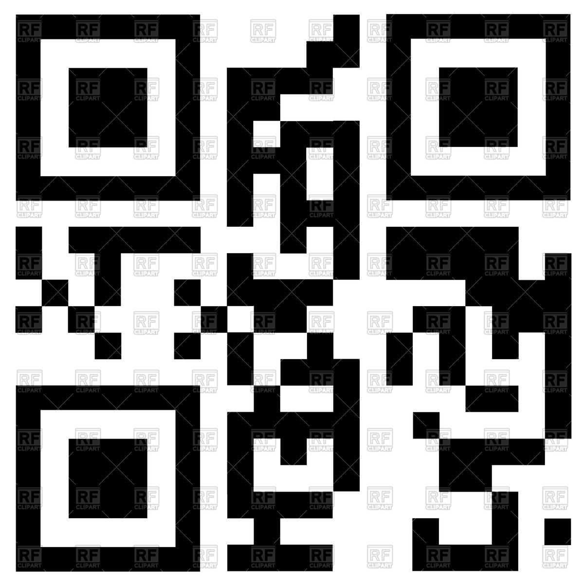 1200x1200 Qr Code Free Shipping Vector Image Vector Artwork Of Design