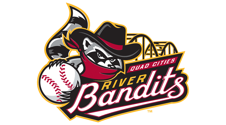 900x500 Quad Cities River Bandits Vector Logo