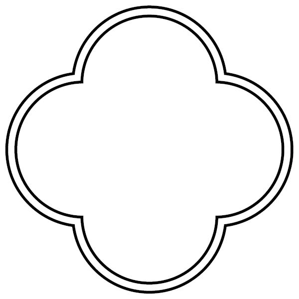 Quatrefoil Vector
