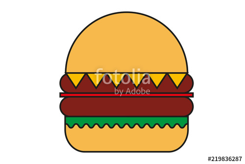 500x334 Hamburguesa De Carne Con Queso. Stock Image And Royalty Free