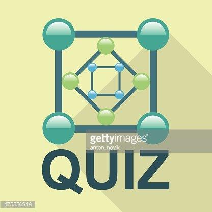 416x416 Quiz Logo Vector Stock Vectors