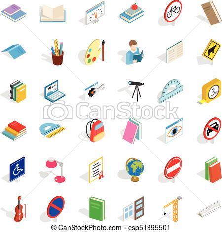 450x470 Quiz Icons Set, Isometric Style. Quiz Icons Set. Isometric Style