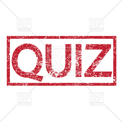 400x400 Stamp With Text Quiz Vector Image Vector Artwork Of Objects