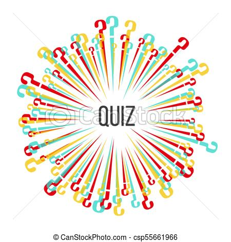 450x470 The Multi Colored Scattering Question Marks.template For A Quiz