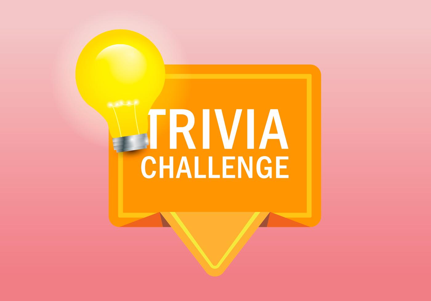 1400x980 Trivia Quiz Logo Illustration