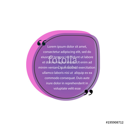 497x500 Quote In Quotation Marks Stock Image And Royalty Free Vector
