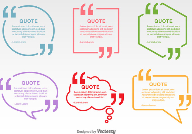 632x443 Minimal Quotation Marks Vector Labels Free Vector Download 352295