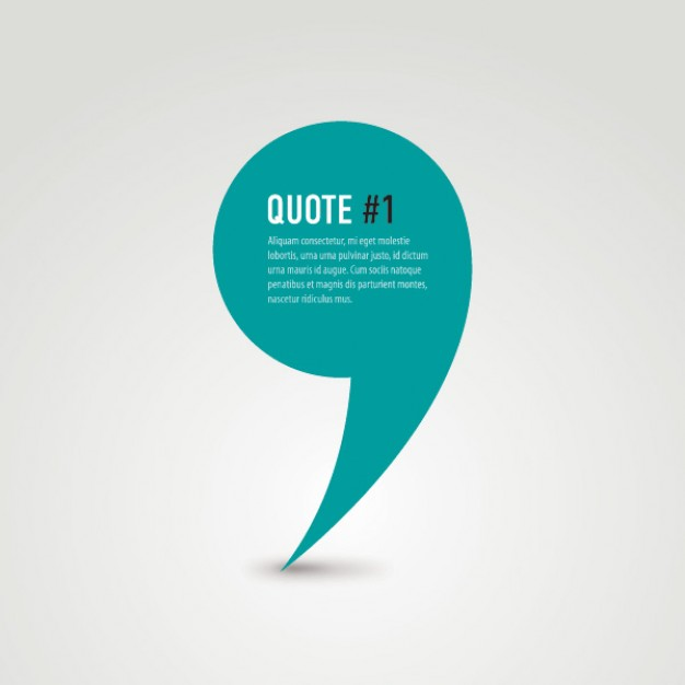 626x626 Quote Vector Free Download
