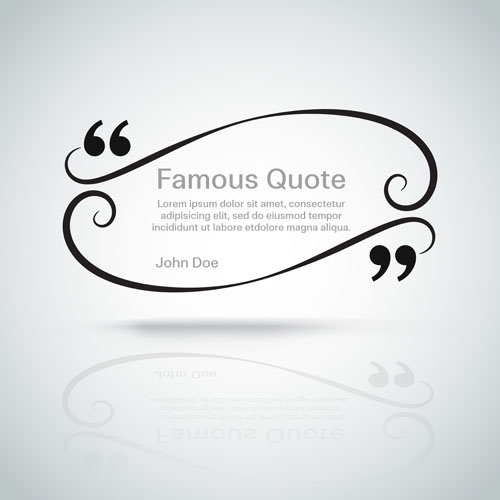 500x500 Text Frames For Quote Vector 03 Free Download
