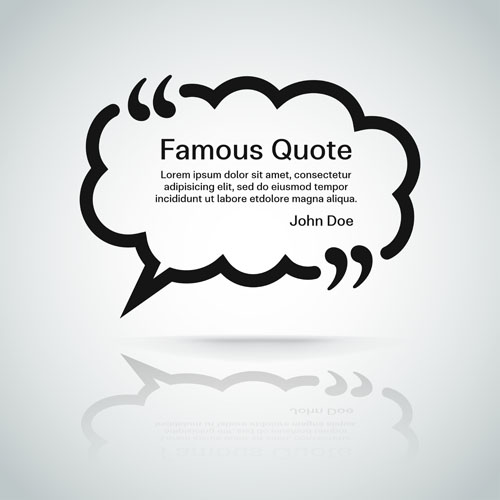 500x500 Text Frames For Quote Vector 05 Free Download