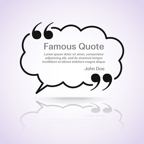 500x500 Text Frames For Quote Vector 16 Free Download