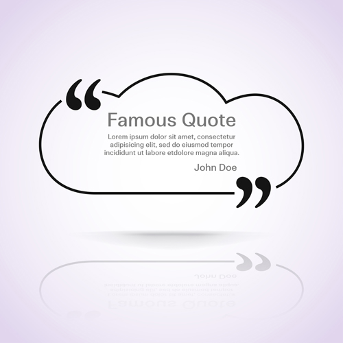 500x500 Text Frames For Quote Vector 23 Free Download