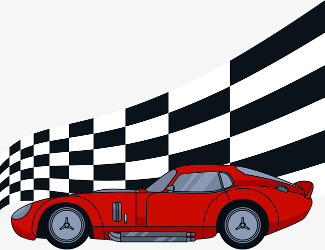 650x501 Vector Hand Painted Racing Car, Racing Vector, Car Vector, Vector