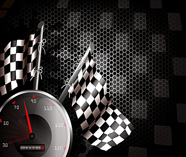650x549 Black Cool Racing Car Industry Background Vector Material, Racing
