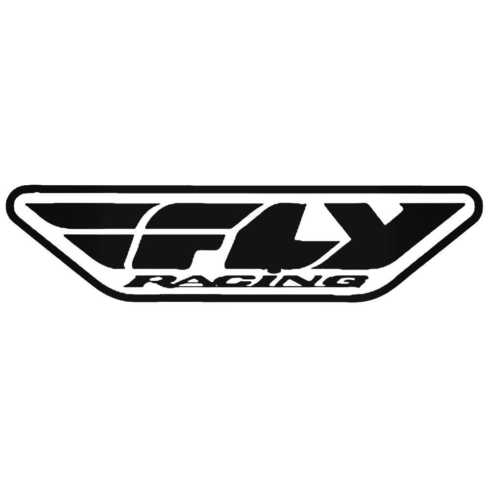 1000x1000 Fly Racing Logo Vector Aftermarket Decal Sticker
