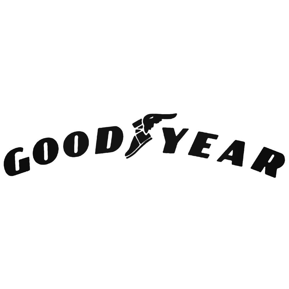 1000x1000 Goodyear Racing Logo Vector Aftermarket Decal Sticker
