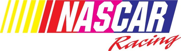 600x170 Nascar Racing Logo Free Vector In Adobe Illustrator Ai ( .ai