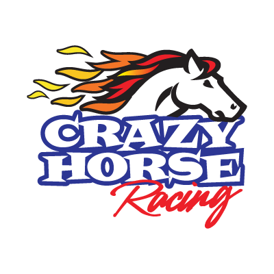 400x400 Crazy Horse Racing Logo Vector