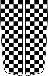 190x300 Vehicle Racing Stripes Vector Clip Art For Vinyl Sign Cutter