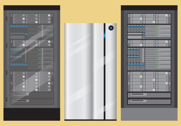 700x490 Server Rack Vectors