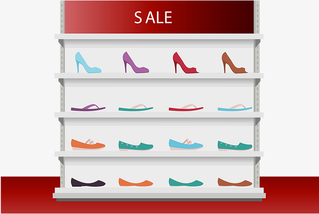650x437 The Shoes On The Shoe Rack, Shoes Vector, Green, Gules Png And