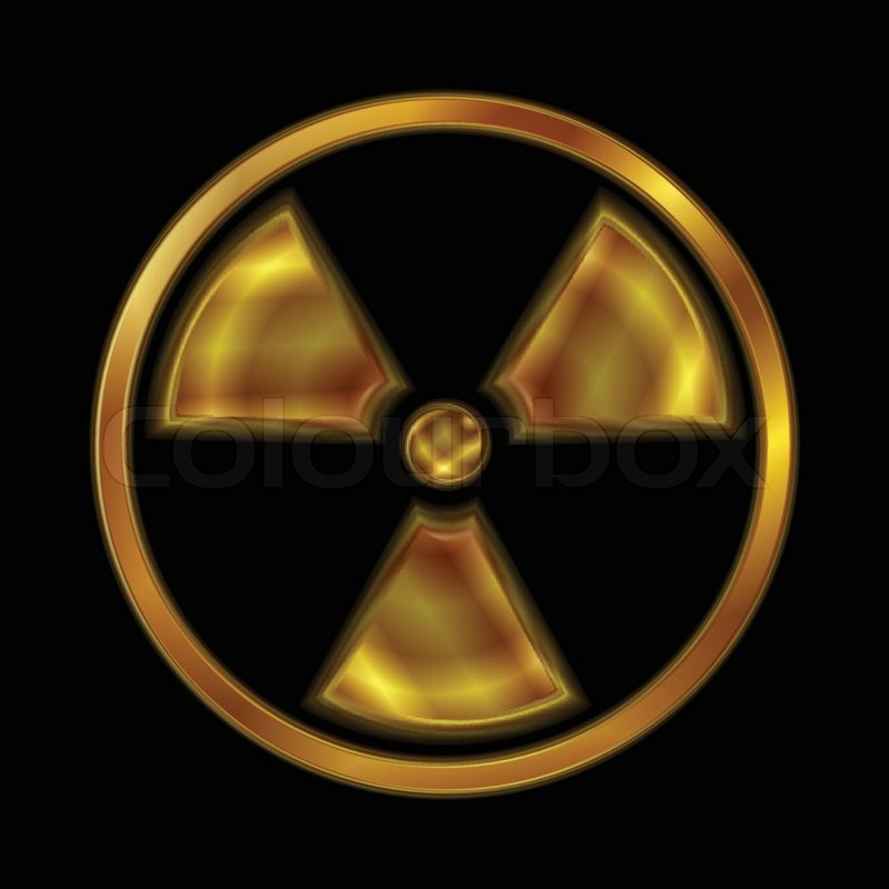 800x800 Nuclear Radiation Vector Symbol Stock Vector Colourbox